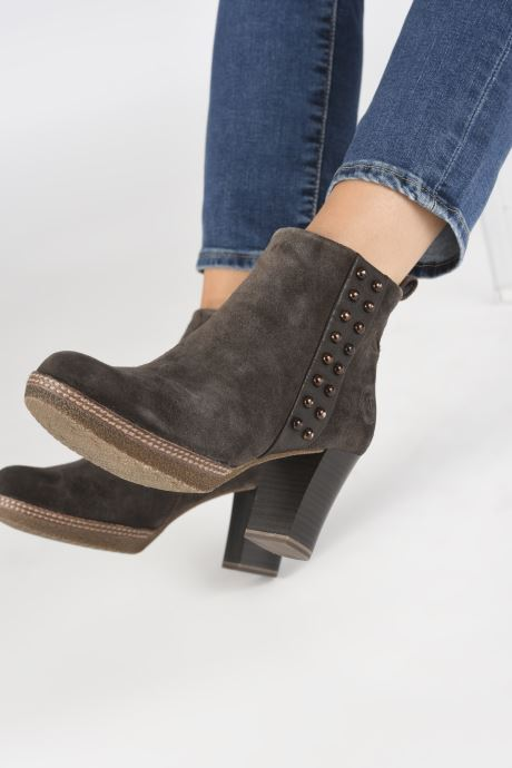 Ankle boots Marco Tozzi 2-2-25458-21  325 Brown view from underneath / model view