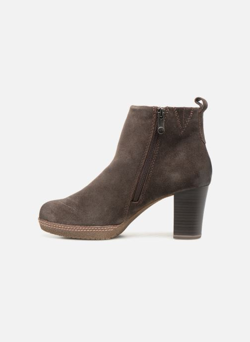 Ankle boots Marco Tozzi 2-2-25458-21  325 Brown front view