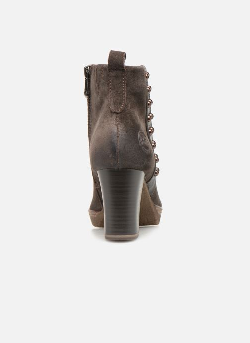 Ankle boots Marco Tozzi 2-2-25458-21  325 Brown view from the right