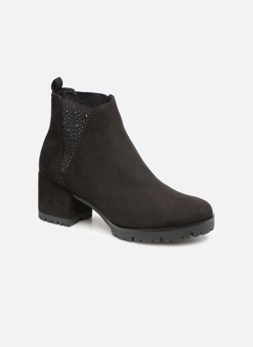 Boots en enkellaarsjes Marco Tozzi 2-2-25462-21  001 Zwart detail