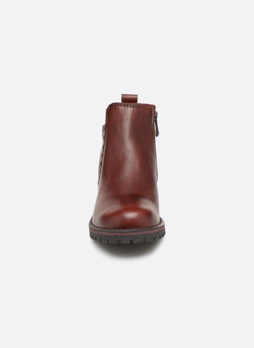 Stiefeletten & Boots Marco Tozzi 2-2-25480-21  507 weinrot schuhe getragen