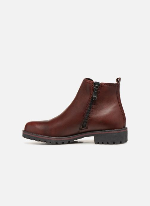 Ankle boots Marco Tozzi 2-2-25480-21  507 Burgundy front view