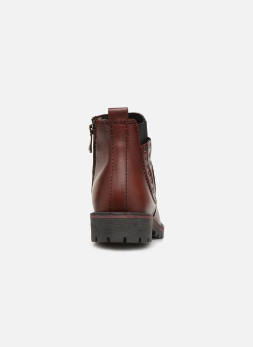 Boots en enkellaarsjes Marco Tozzi 2-2-25480-21  507 Bordeaux rechts