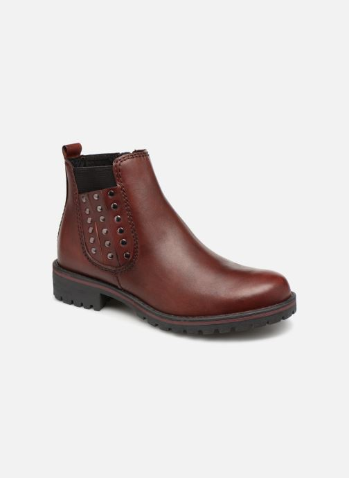 Ankle boots Marco Tozzi 2-2-25480-21  507 Burgundy detailed view/ Pair view