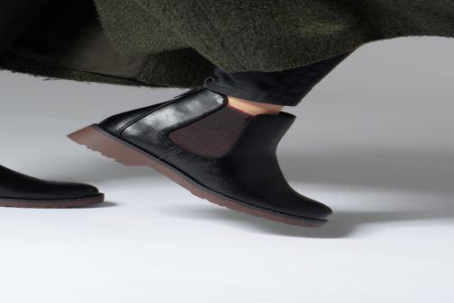 Stiefeletten & Boots Marco Tozzi 2-2-25497-21  096 schwarz ansicht von unten / tasche getragen