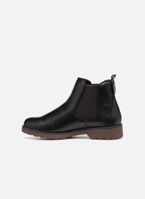 Boots en enkellaarsjes Marco Tozzi 2-2-25497-21  096 Zwart voorkant