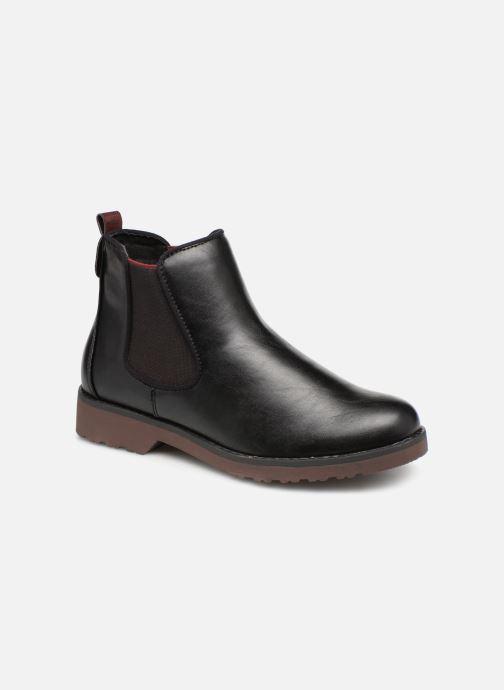 Boots en enkellaarsjes Marco Tozzi 2-2-25497-21  096 Zwart detail