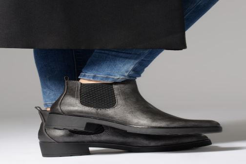 Stiefeletten & Boots Marco Tozzi 2-2-25806-21  937 schwarz ansicht von unten / tasche getragen