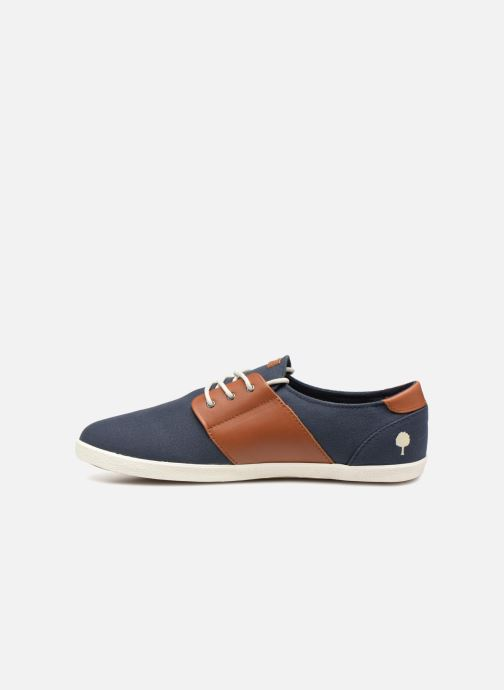 Sneakers Faguo Cypress Cotton Leather Blauw voorkant