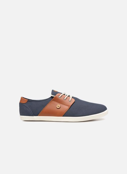 Sneakers Faguo Cypress Cotton Leather Blauw achterkant
