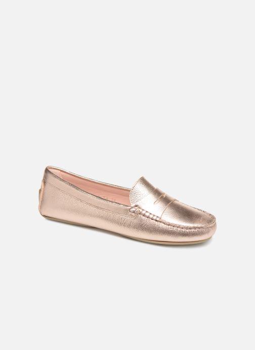 Mocassins Pretty Ballerinas 43162 Or et bronze vue détail/paire
