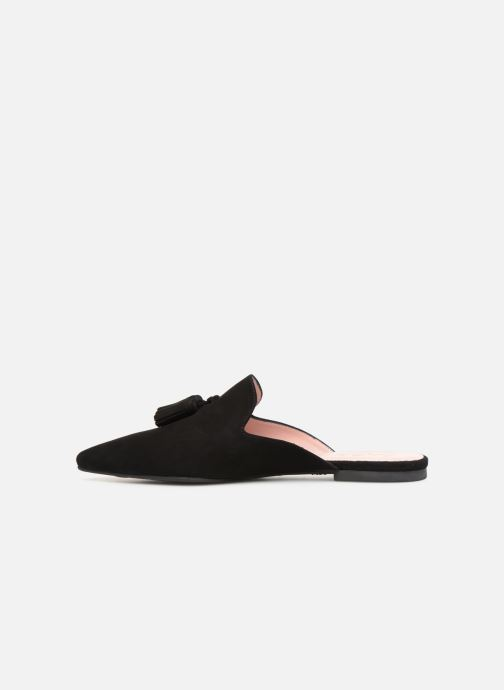 Mules & clogs Pretty Ballerinas 46622 Black front view