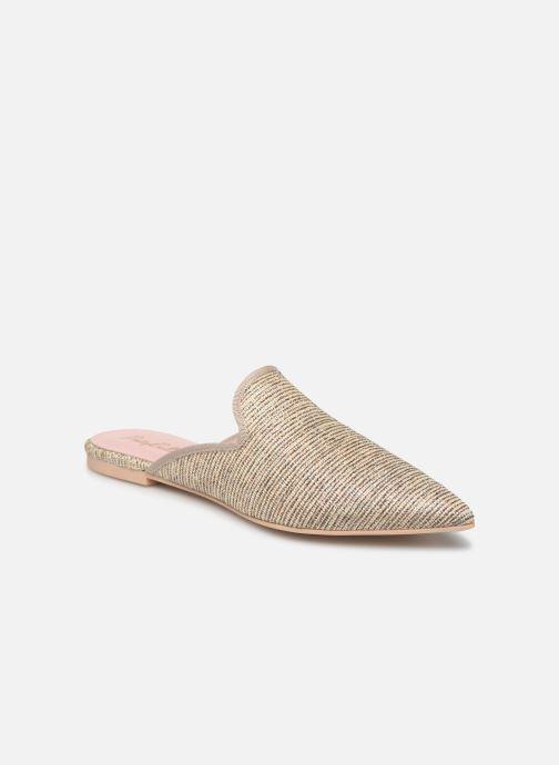 Mules et sabots Pretty Ballerinas 46998 Or et bronze vue détail/paire