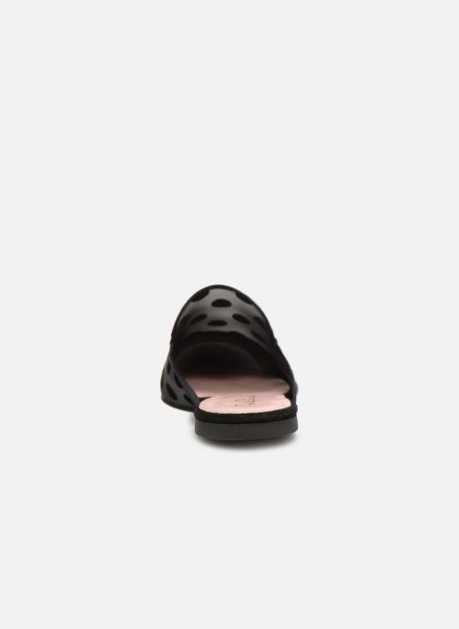 Zuecos Pretty Ballerinas 47009 Negro vista lateral derecha