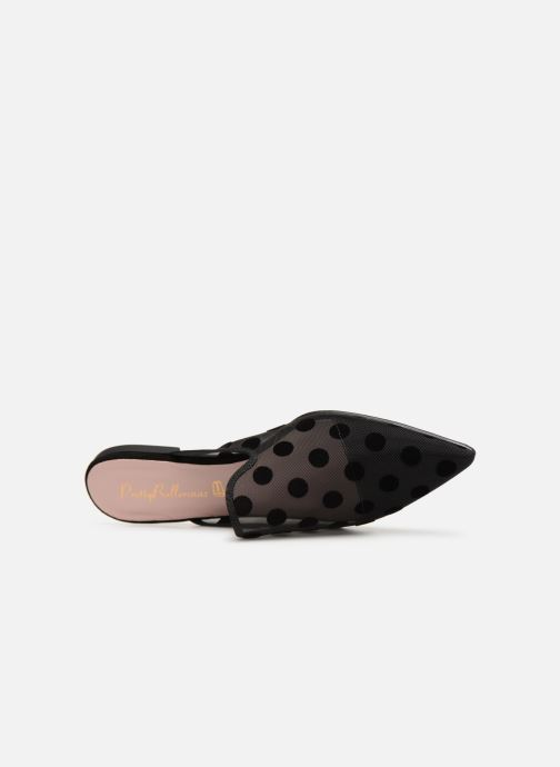 Pretty Chez 361654 Zoccoli 47009 nero Ballerinas 4RSPq