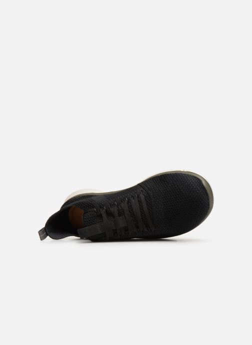 Trainers Clarks TRIKEN RUN Black view from the left