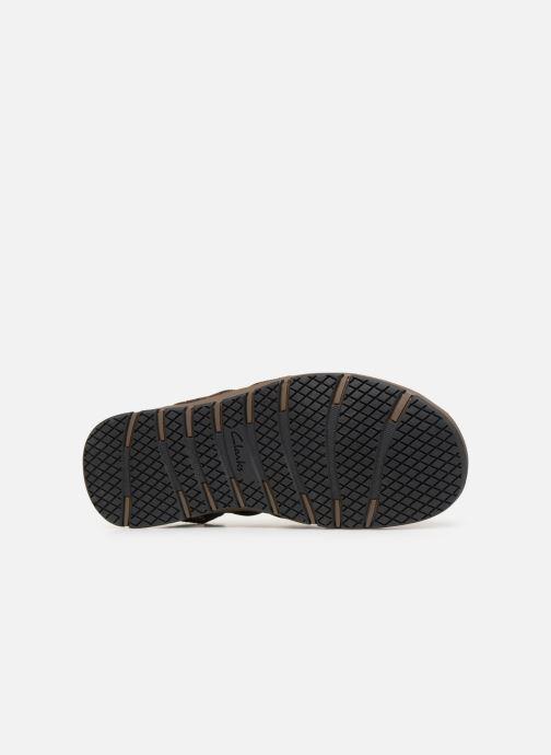 Sandales et nu-pieds Clarks BRIXBY COVE Marron vue haut