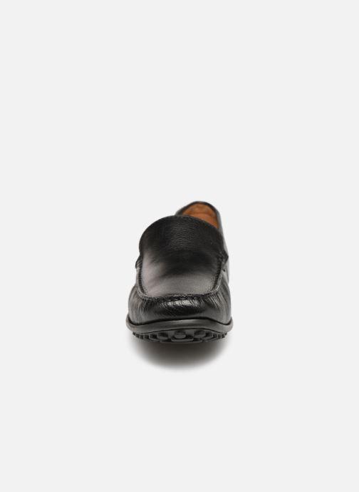 Slipper Clarks HAMILTON FREE schwarz schuhe getragen