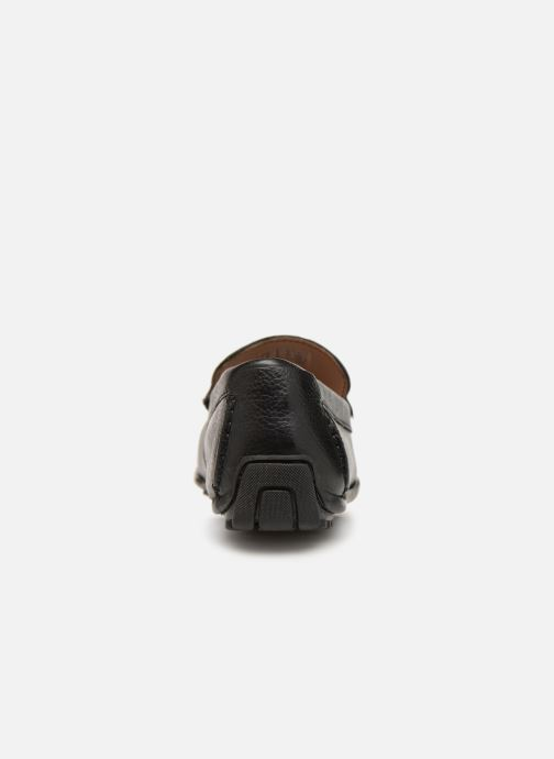Loafers Clarks HAMILTON FREE Black view from the right