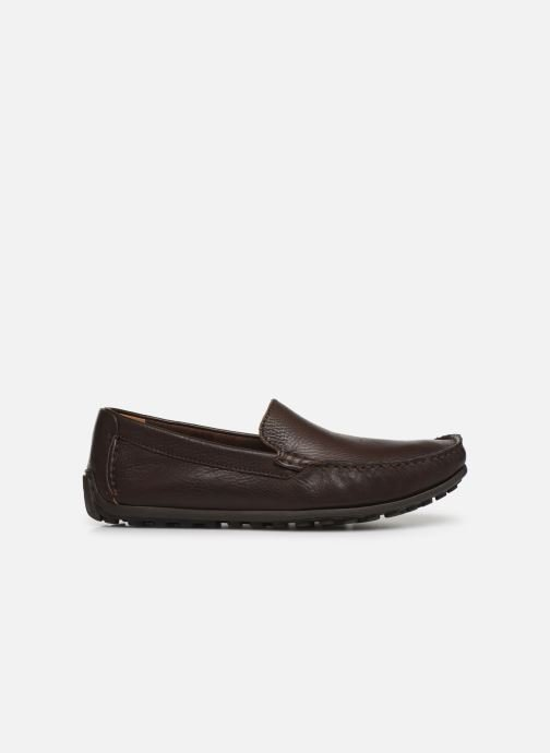 Loafers Clarks HAMILTON FREE Brown back view