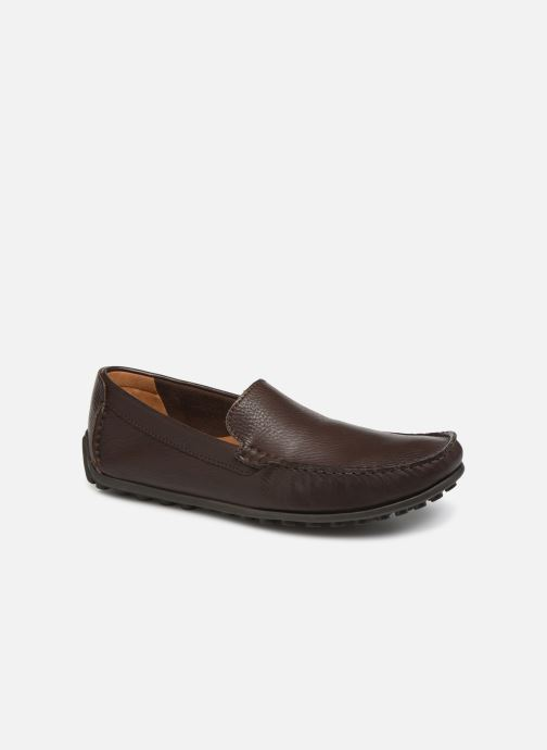 Loafers Clarks HAMILTON FREE Brown detailed view/ Pair view