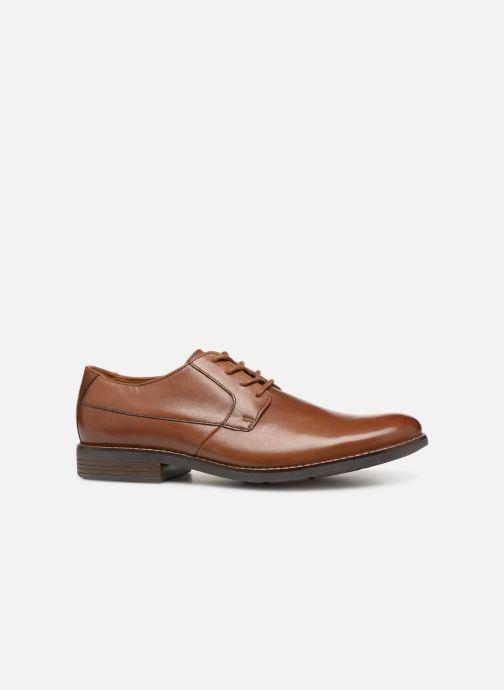 Chaussures à lacets Clarks BECKEN PLAIN Marron vue derrière