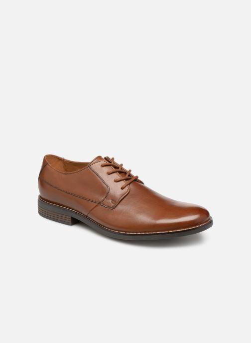 Chaussures à lacets Clarks BECKEN PLAIN Marron vue détail/paire
