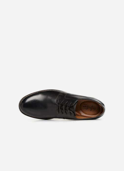 Zapatos con cordones Clarks BECKEN PLAIN Negro vista lateral izquierda