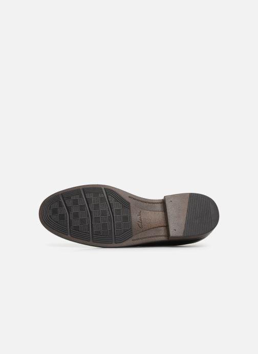 Snörade skor Clarks BECKEN PLAIN Svart bild från ovan