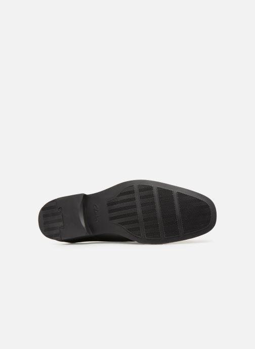Chaussures à lacets Clarks TILDEN CAP Noir vue haut