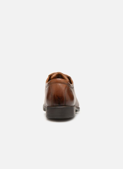 Clarks Tilden Leather Dark Tan Cap vmwNnOy08