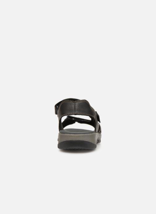 Sandales et nu-pieds Clarks Brixby Shore Noir vue droite