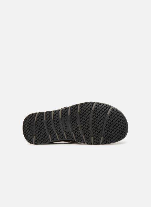 Sandales et nu-pieds Clarks Brixby Shore Noir vue haut