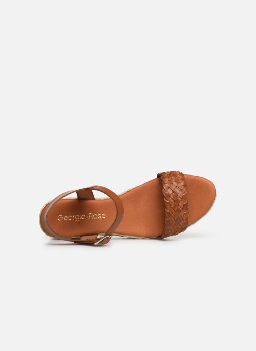 Espadrilles Georgia Rose Imina Brown view from the left