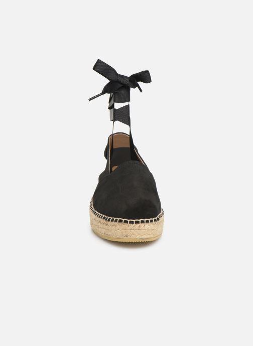 Espadrilles Georgia Rose Delaida schwarz schuhe getragen