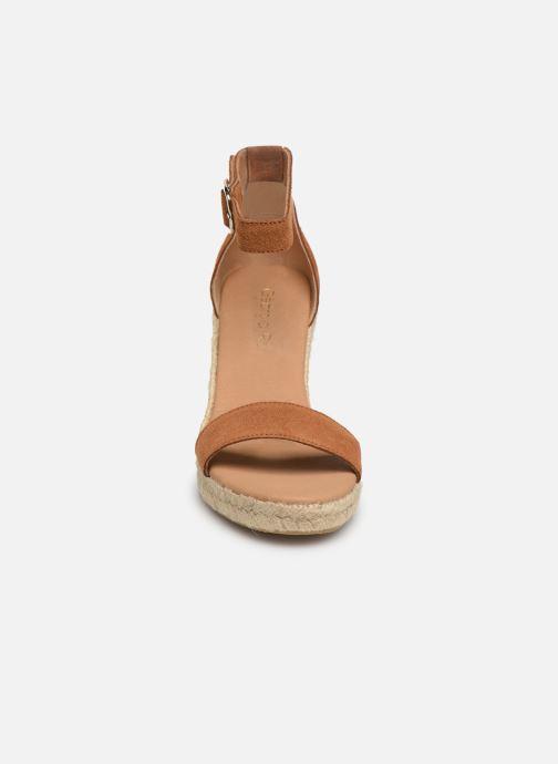 Espadrilles Georgia Rose Aspadrila Marron vue portées chaussures