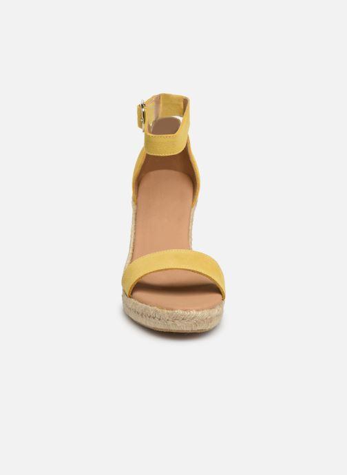 Espadrilles Georgia Rose Aspadrila Jaune vue portées chaussures