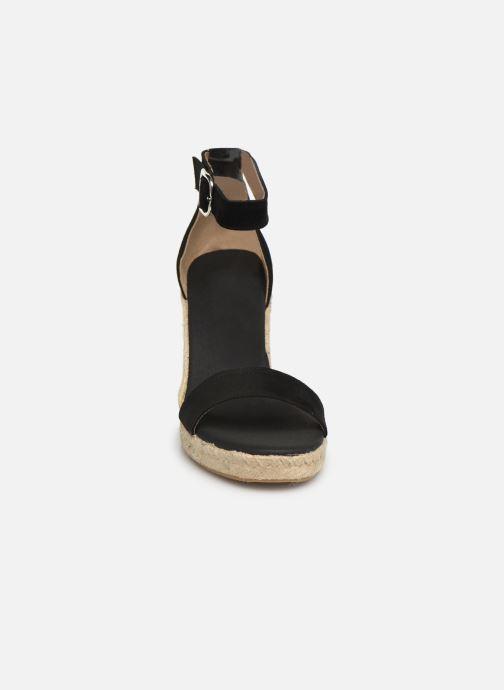 Espadrilles Georgia Rose Aspadrila Noir vue portées chaussures
