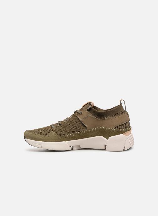 Sneakers Clarks TRI ACTIVE UP Groen voorkant