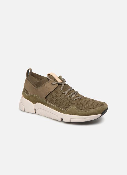 Sneakers Clarks TRI ACTIVE UP Grøn detaljeret billede af skoene