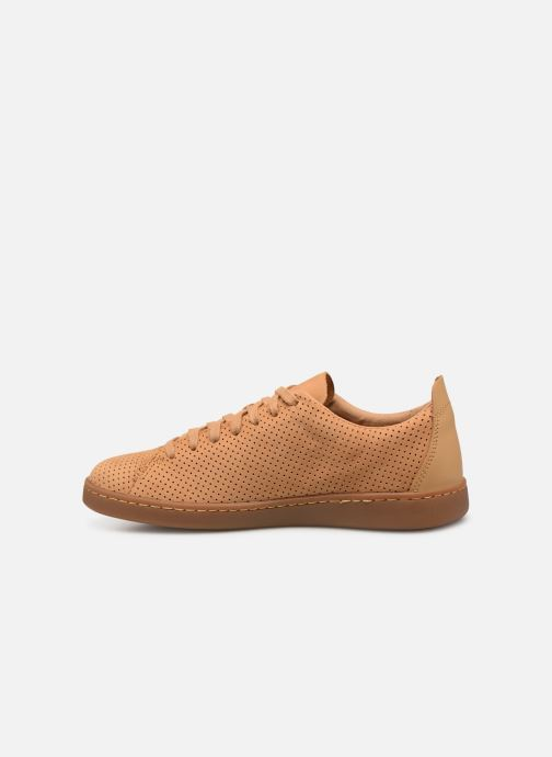 Sneakers Clarks NATHAN LIMIT Bruin voorkant