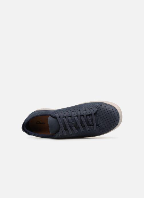 Sneaker Clarks NATHAN LIMIT blau ansicht von links