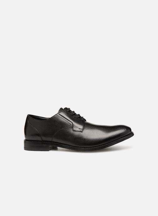 Lace-up shoes Clarks EDWARD PLAIN Black back view