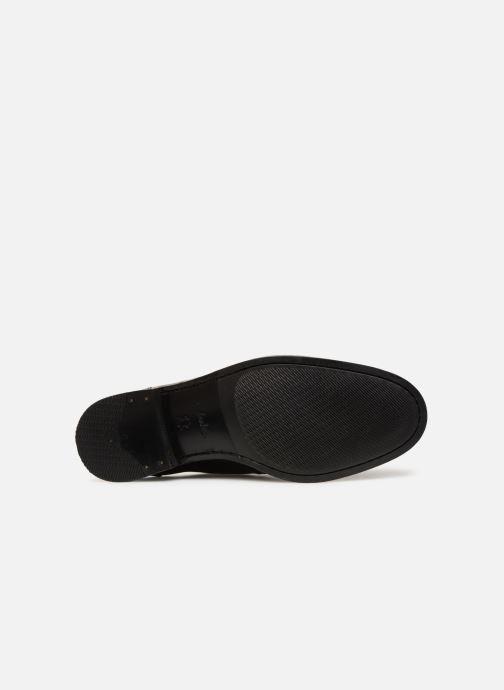 Snörade skor Clarks EDWARD PLAIN Svart bild från ovan