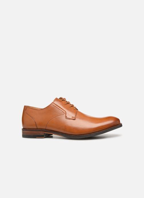 Zapatos con cordones Clarks EDWARD PLAIN Marrón vistra trasera