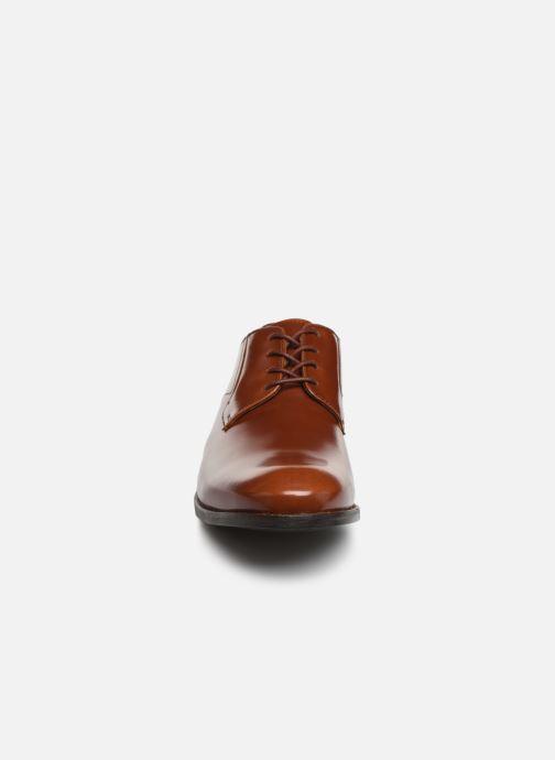 Lace-up shoes Clarks EDWARD PLAIN Brown model view