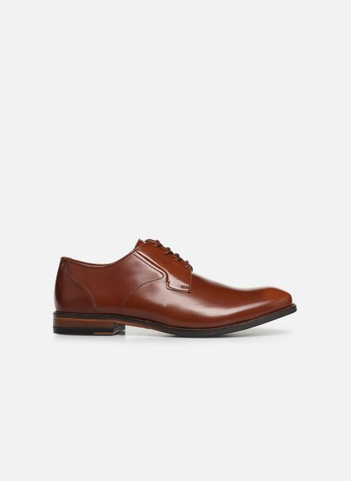 Lace-up shoes Clarks EDWARD PLAIN Brown back view