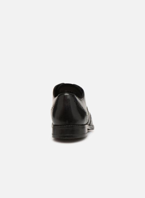 Zapatos con cordones Clarks EDWARD WALK Negro vista lateral derecha