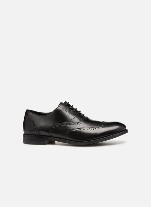 Chaussures à lacets Clarks EDWARD WALK Noir vue derrière