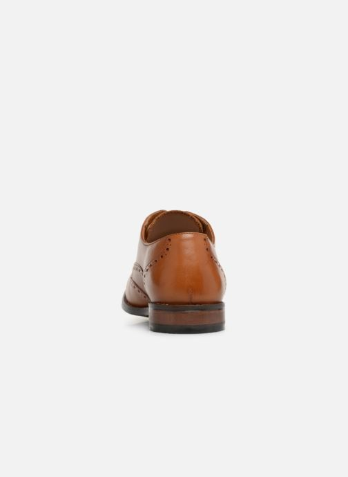 Lace-up shoes Clarks EDWARD WALK Brown view from the right